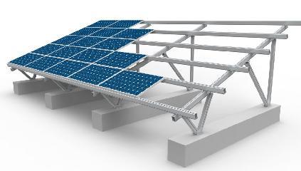 Chiko Solar 架台 中国